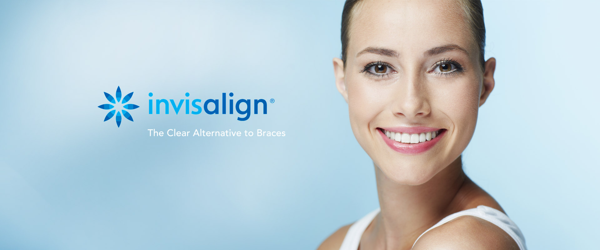 Clear braces Invisalign